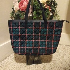 Like New Talbots Quilted Purse